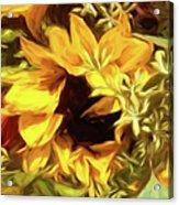 Sunflower1 Acrylic Print