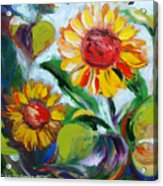 Sunflowers 10 Acrylic Print
