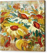 Sunflowers 15 Acrylic Print