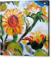 Sunflowers 5 Acrylic Print