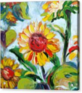 Sunflowers 6 Acrylic Print