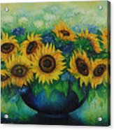 Sunflowers No 1. Acrylic Print