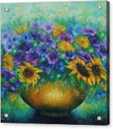 Sunflowers No 2. Acrylic Print