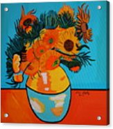 Sunflowers Van Gogh Acrylic Print