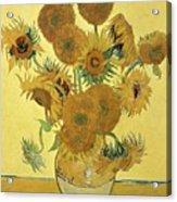 Sunflowers, 1888  Acrylic Print