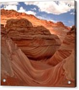 Sunkiss At Coyote Buttes Acrylic Print