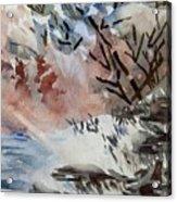Sunlight On The River Acrylic Print