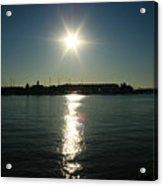 Sunlight On The Water Acrylic Print
