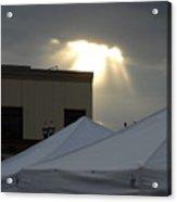 Sunlight Shooting Through Clouds Acrylic Print