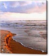 Sunlit Cannon Beach Acrylic Print