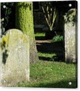 Sunlit Churchyard Acrylic Print