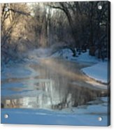 Sunlit Creek  Acrylic Print
