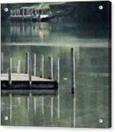 Sunlit Dock Acrylic Print