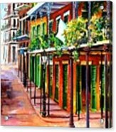 Sunlit New Orleans Acrylic Print
