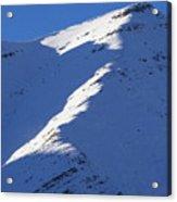 Sunlit Ridge Acrylic Print