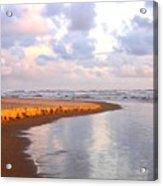 Sunlit Shores Acrylic Print