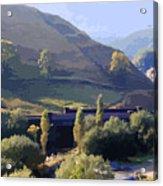 Sunlit Valley  Acrylic Print