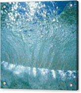Sunlit Wave Acrylic Print