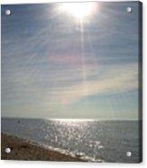 Sunny Beach  Acrylic Print