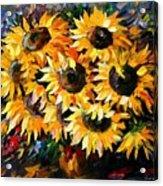 Sunny Bouquet Acrylic Print