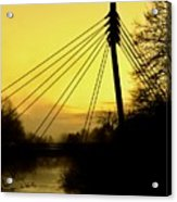 Sunny Bridge Acrylic Print