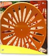 Sunny Chairs 4 Acrylic Print