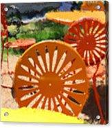 Sunny Chairs 5 Acrylic Print
