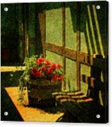 Sunny Corner Acrylic Print