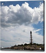 Sunny Day At Marblehead Lighthouse Acrylic Print
