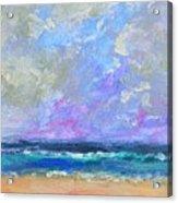 Sunny Day At The Sea Acrylic Print