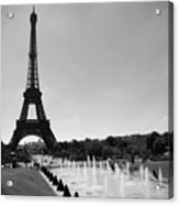 Sunny Day In Paris Acrylic Print