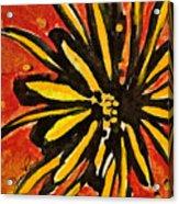 Sunny Hues Watercolor Acrylic Print