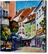 Sunny Meersburg - Germany Acrylic Print
