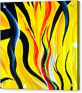 Sunny Morning, Energy. Abstract Art Acrylic Print
