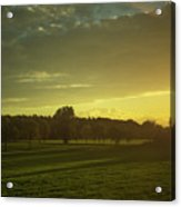 Sunny Netherlands Acrylic Print
