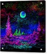 Sunny Orb Acrylic Print