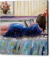 Sunny Reading Acrylic Print