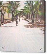 Sunny Road Acrylic Print
