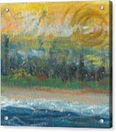 Sunny Side Beach Acrylic Print