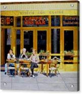 Sunny Side Of Bleecker Acrylic Print