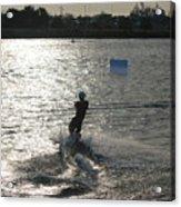 Sunny Ski Acrylic Print