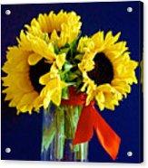 Sunny Trio Acrylic Print
