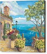 Sunny Villa Acrylic Print