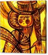 Sunny Warrior Acrylic Print