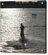 Sunny Waves Acrylic Print