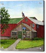 Sunnycrest Farm Acrylic Print