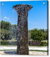Sunnylands Fountain 2 Acrylic Print