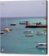 Sunray Harbor Acrylic Print