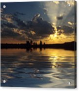 Sunray Sunset Acrylic Print