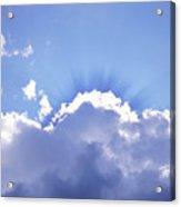 Sunrays Acrylic Print